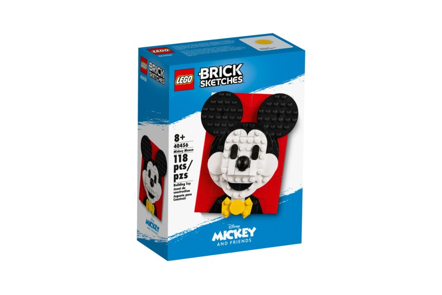 March 2021 Disney sets: Mickey Mouse Brick Sketch