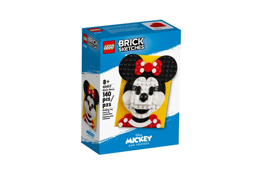 March 2021 Disney sets: Minnie Mouse Brick Sketch