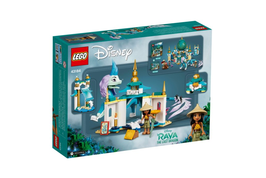 March 2021 Disney sets: Raya and Sisu Dragon