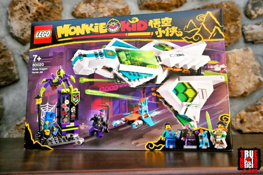 March 2021 Monkie Kid sets: White Dragon Horse Jet