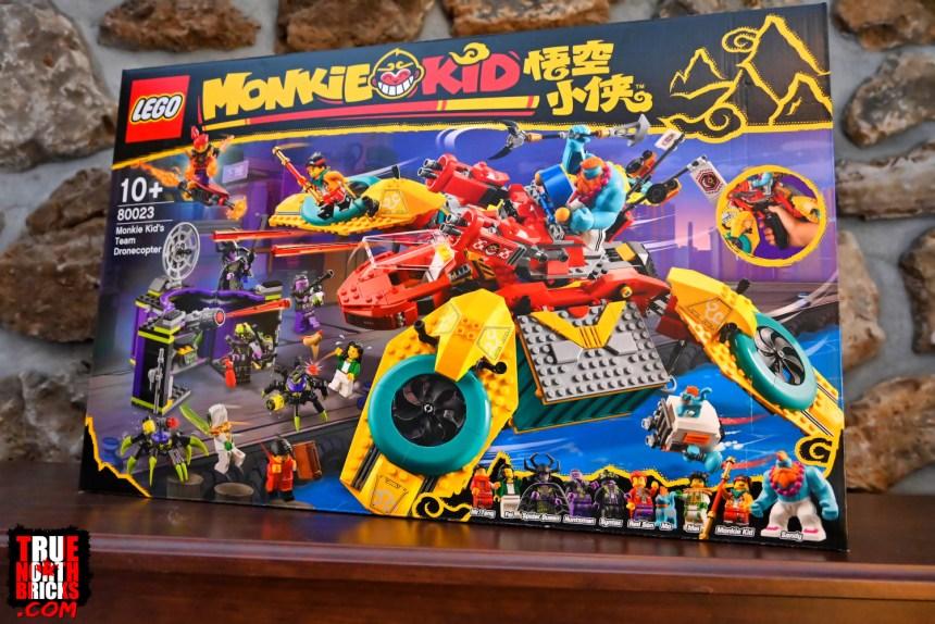 March 2021 Monkie Kid sets: Monkie Kid's Team Dronecopter