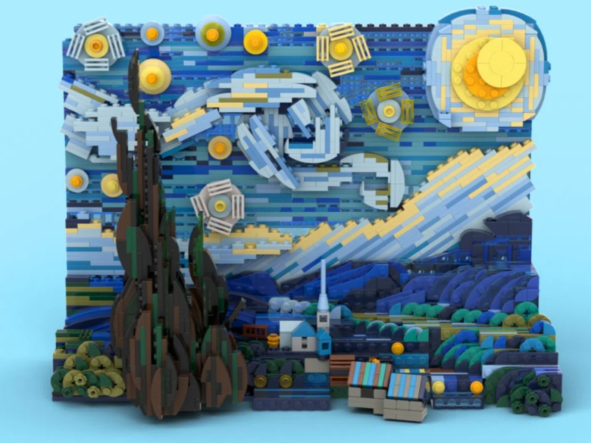 Starry Night coming soon from LEGO® Ideas.