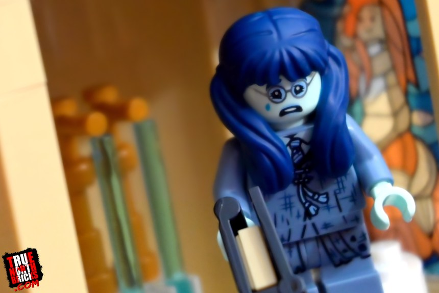 Moaning Myrtle from the second wave of Harry Potter Collectible Minifigures