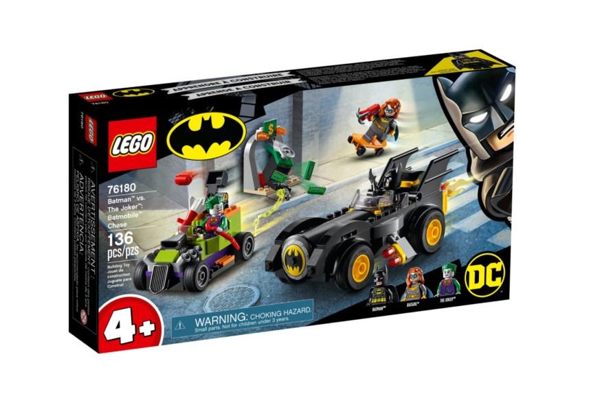 April 2021 Superheroes Sets: Batmobile Chase