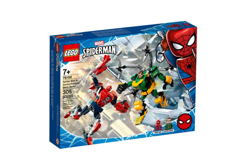 April 2021 Superheroes sets: Spider-Man and Doctor Octopus