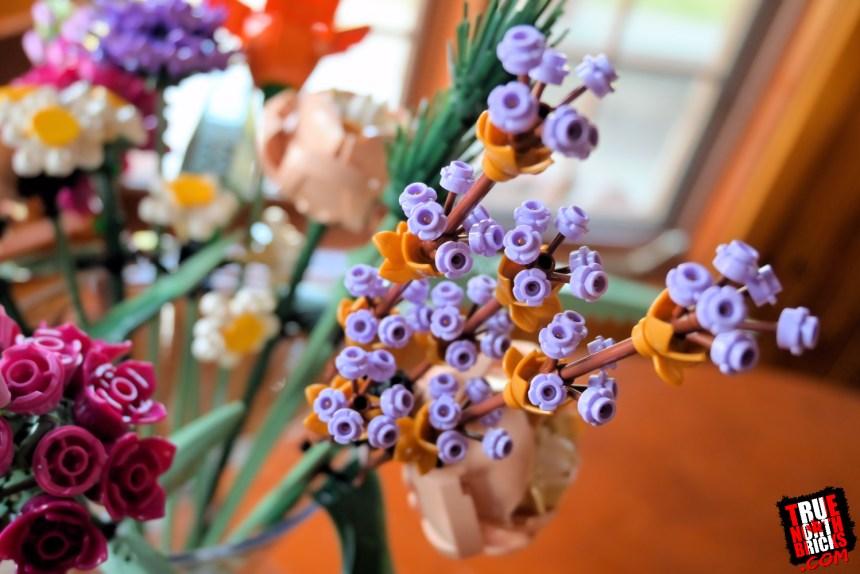 LEGO® Flower Bouquet Lavender