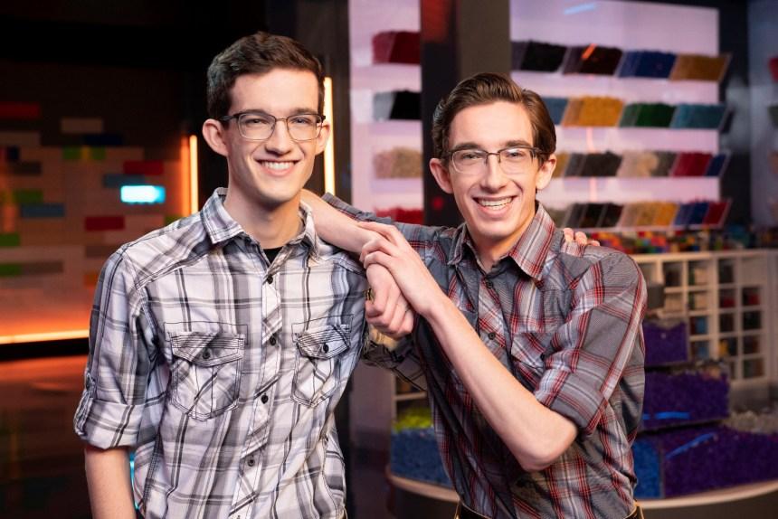LEGO® Masters Contestants: Caleb and Jacob.