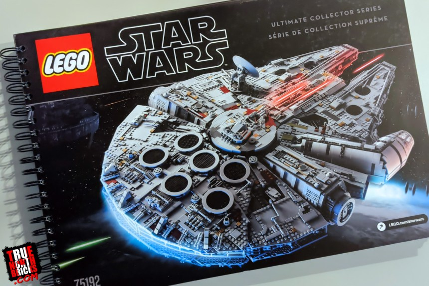 Millennium Falcon Day 1: the instruction manual.