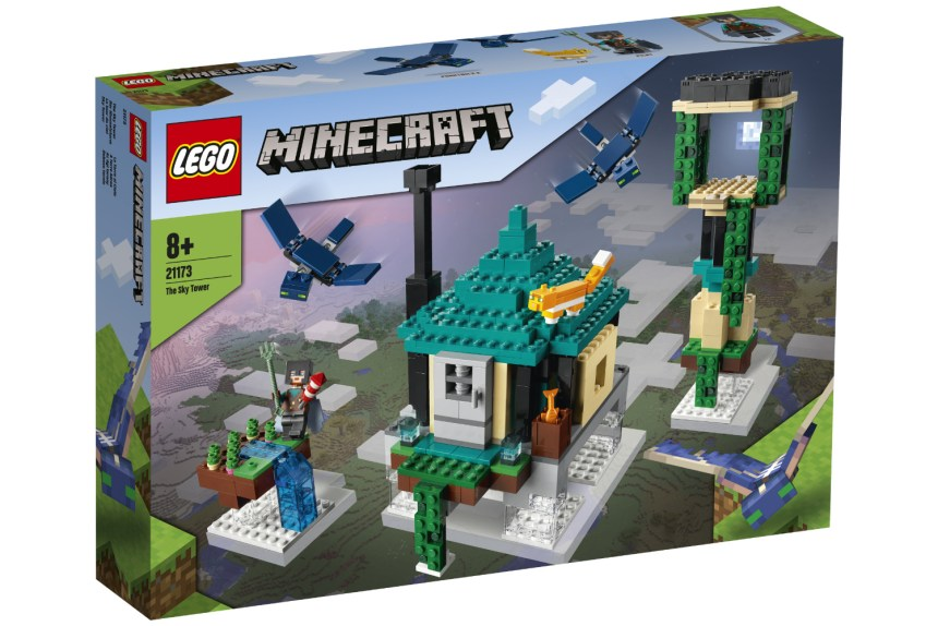 Summer 2021 Minecraft Sky Tower