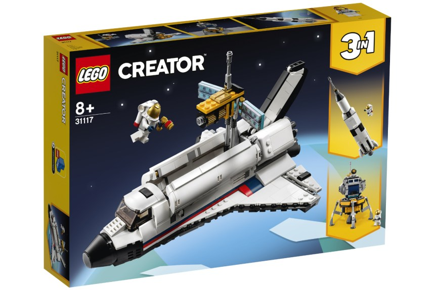 Summer 2021 Creator Space Shuttle Adventure