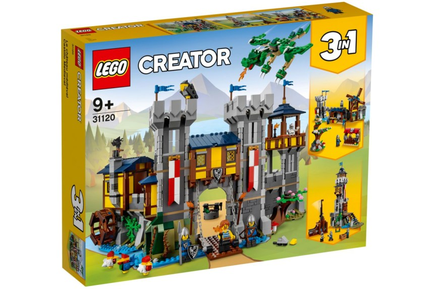 Summer 2021 Creator Medieval Castle