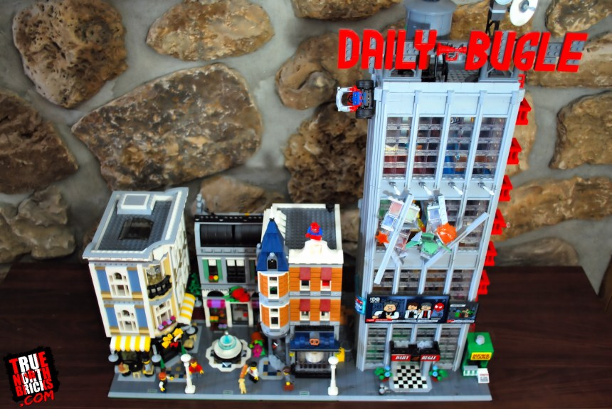 Daily Bugle (76178) next to Creator Modular, Assembly Square.