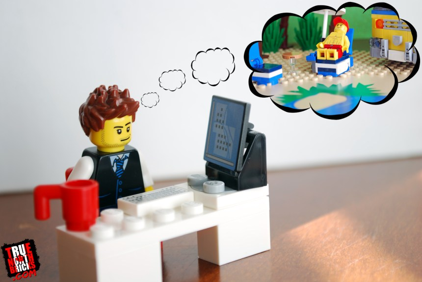 Minifigure Dream Vacation Giveaway Sample Entry