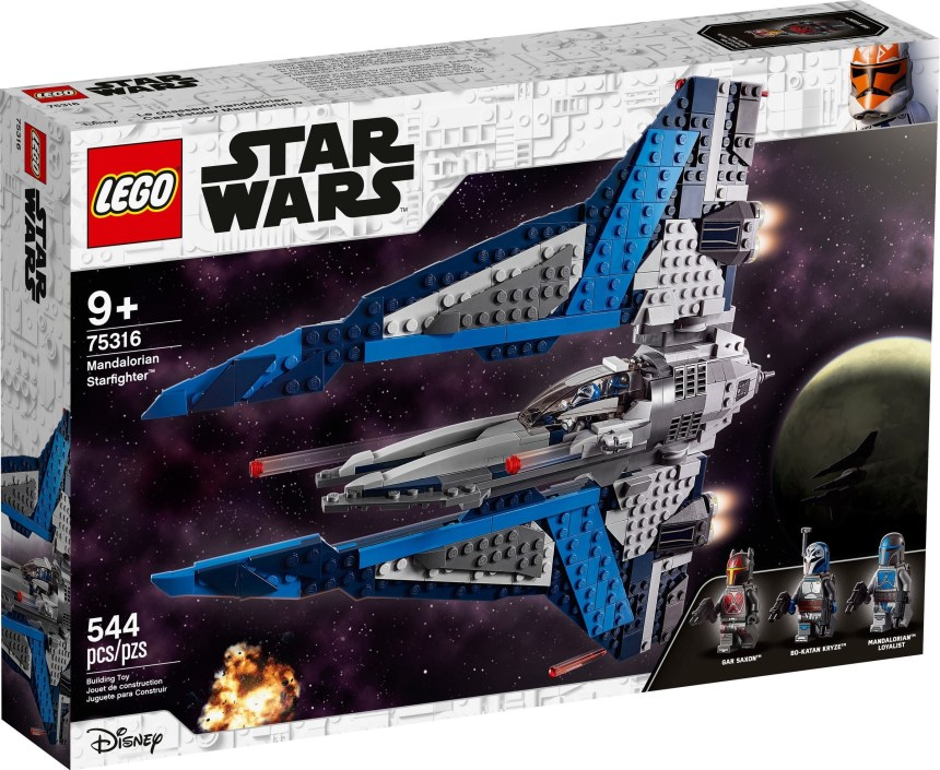 Summer 2021 Star Wars Mandalorian Starfighter