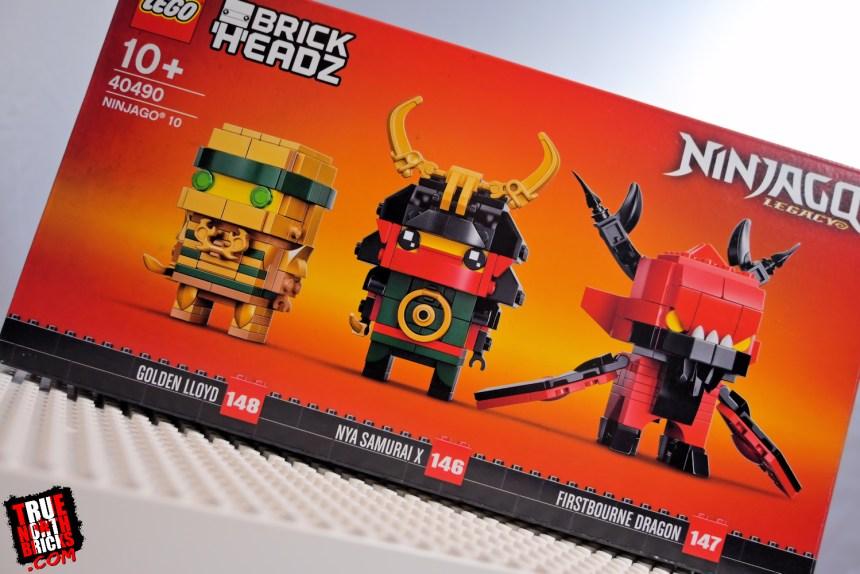 BrickHeadz Ninjago 10 (40490)