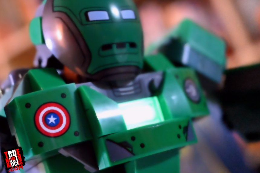 Captain Carter and the Hydra Stomper uses a glow in the dark brick.