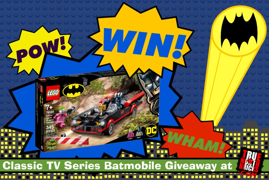 August 2021 LEGO® Giveaway - Classic TV Series Batmobile