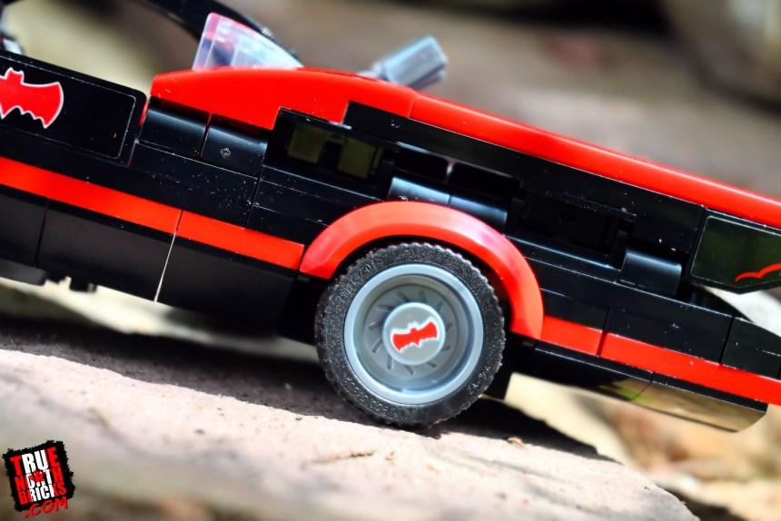 Classic TV Series Batmobile detailing