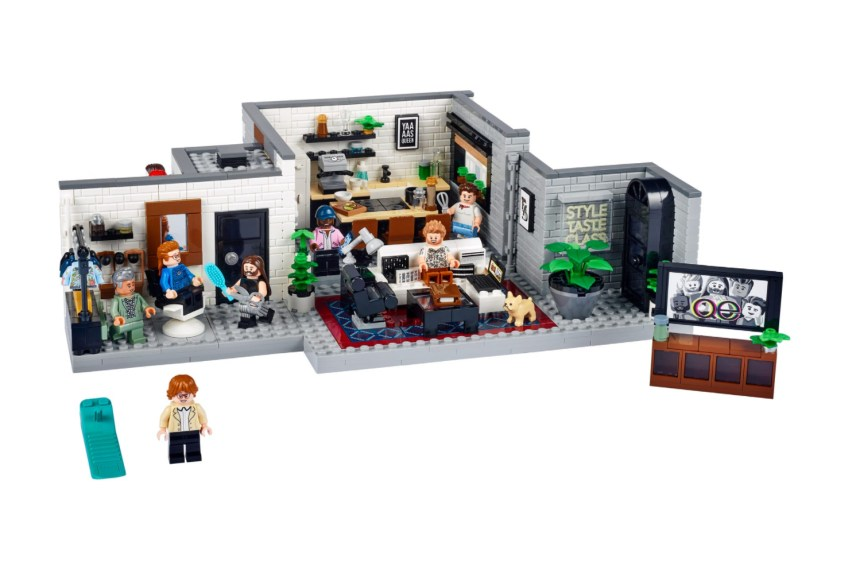 Queer Eye Loft set from the LEGO Group.