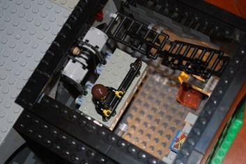 MOC LEGO Store freight elevator.