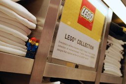 My LEGO SigFig at Uni Qlo's Flagship Store in New York.