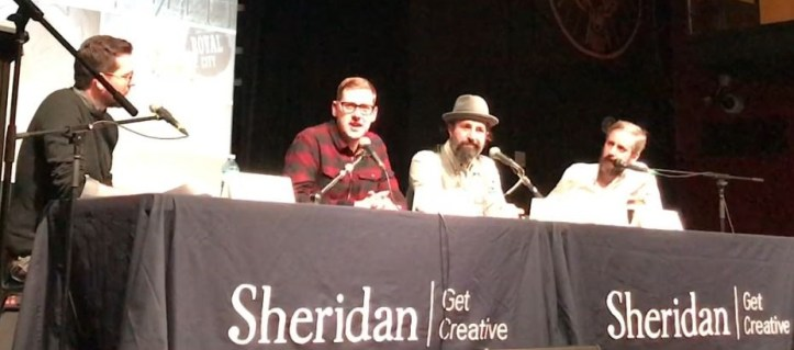 Sheridan College heroes panel part 1