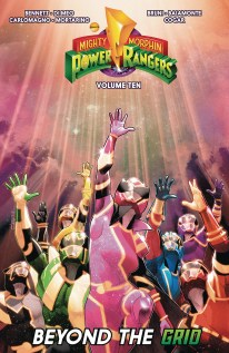 MIghty Morphin Power Rangers Vol 10 TP