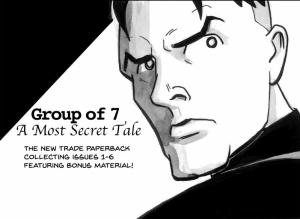 group of 7 graphic novel