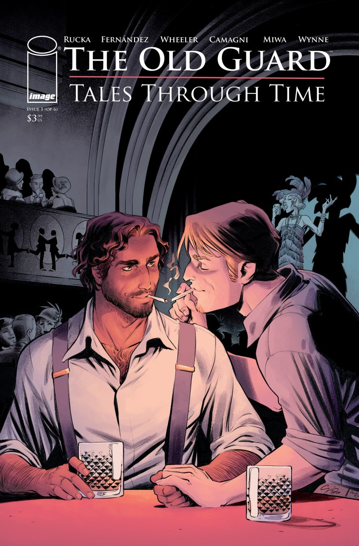 The Old Guard Tales Through Time cover