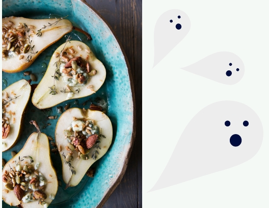 Baked Pears Graphic