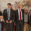 Jordan Wood (Smith and Nephew medical instrument/implant representative), Dr. Jim Powell, Ian MacPhail, Dr. Manuel Avila, Dr. Walley Temple