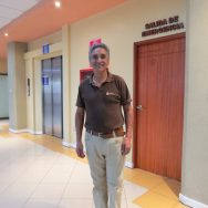 Luco is one of the St. Ines maintenance staff. He is a friendly and familiar face every year.