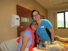Today's PAO patient is being cared for by Ellen.
