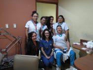 Santa Ines nurses on floor 3. Floor 3 was the location for TNMS patients.