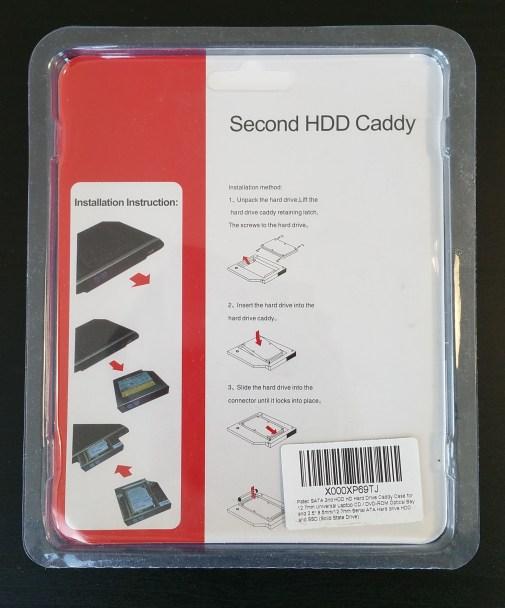 HDD Caddy Rear