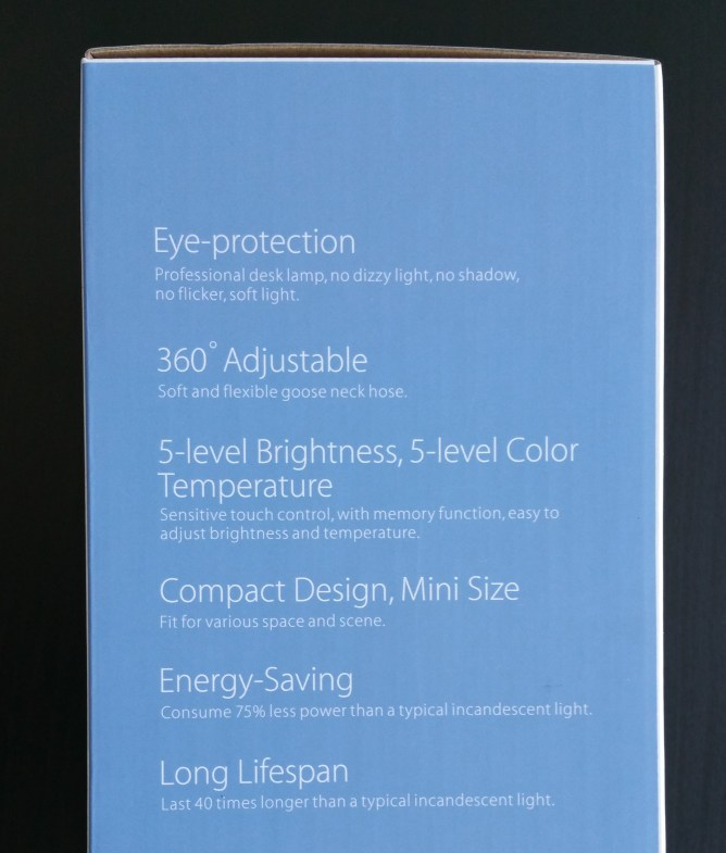 LED Lamp Features