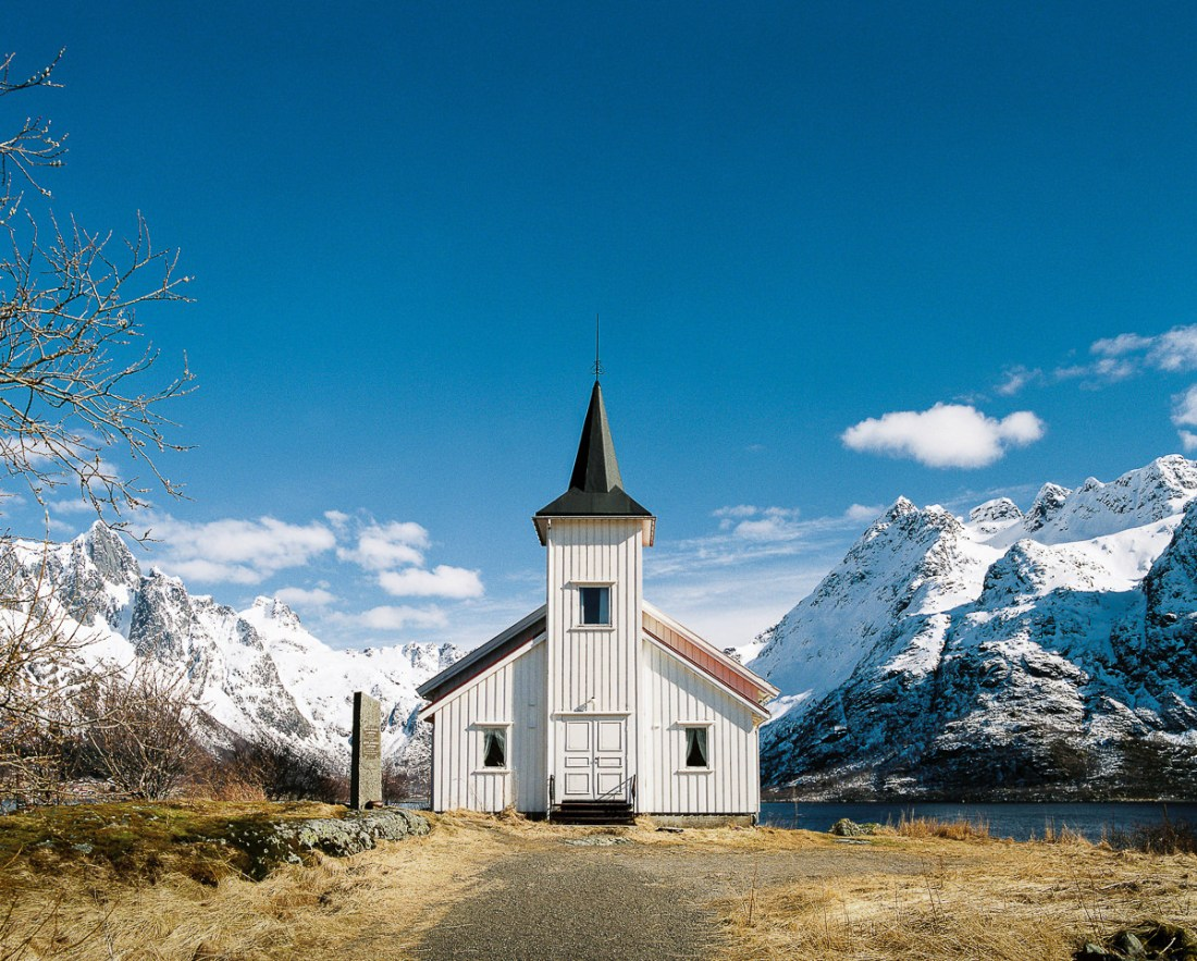 Norway Habitat: remote chapel