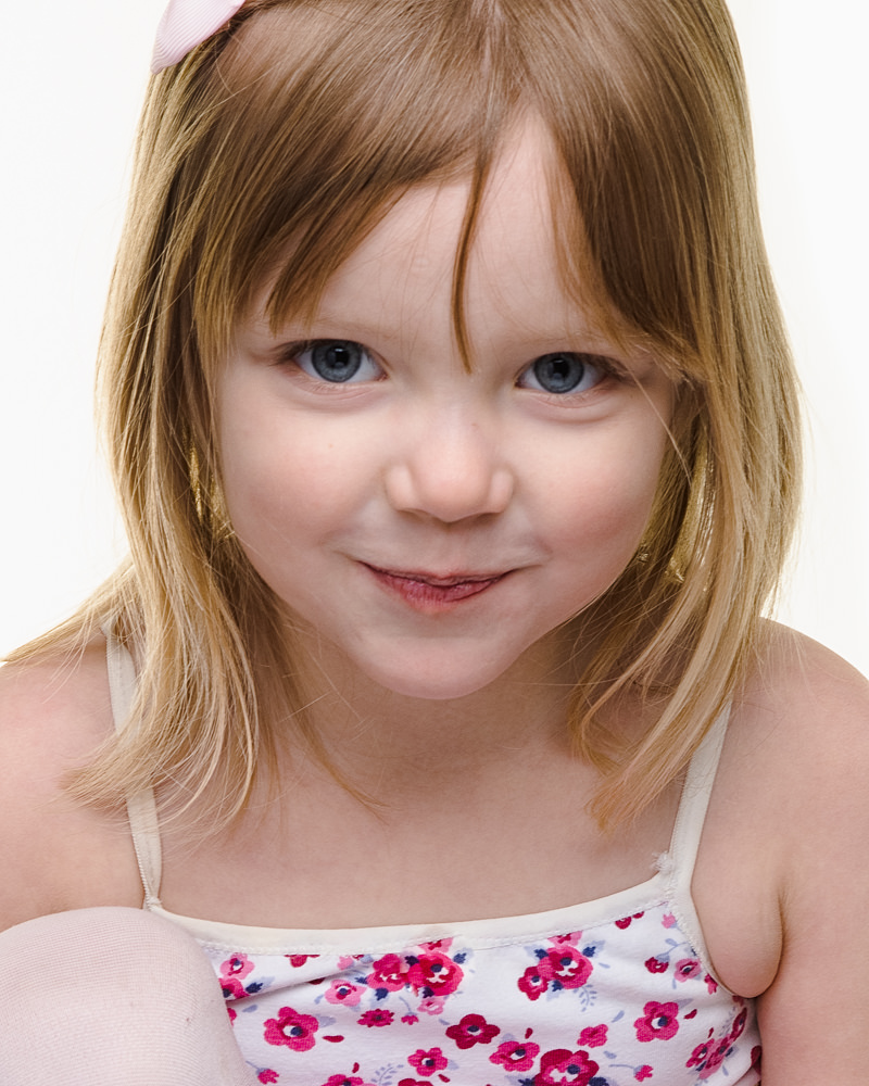 Child portraits Leeds