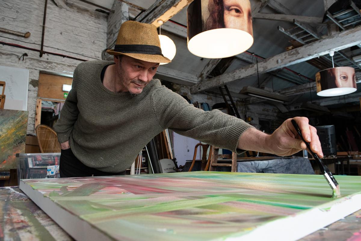 Branding Shoot for Dex Hannon Leeds based artist