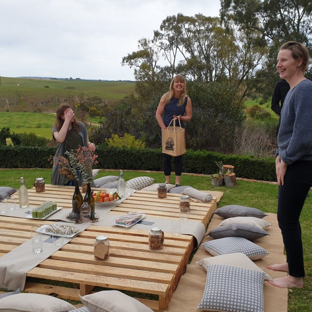 Barossa spring wellness retreat