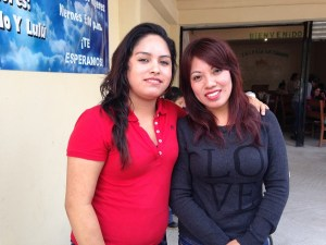 These two young women ask us to pray about their future.