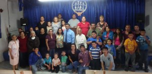 Pastor Jose's congregation.