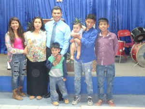 Pastor Jose and family.