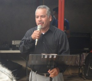 Robert Mesa from Yoakum, Texas organized the event and preached a powerful message.