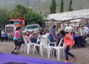 The kid's had fun playing musical chairs.