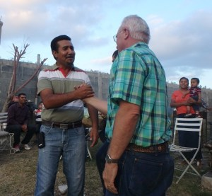 Pastor Reynaldo was also at the party.