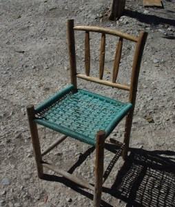 This is a homemade chair.