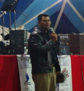 Pastor Jose was the moderator the first night.