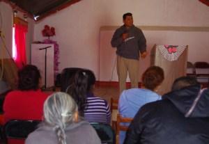 Pastor Jose from Dieciocho de Marzo preached a strong Bible-based sermon.