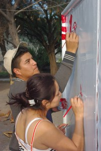 This young couple were a big help preparing for the changes. They were also on the teaching team.